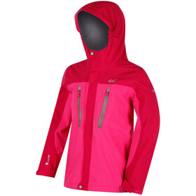 Regatta Hipoint Stretch III Jacket Kids Hot Pink/Vivacious